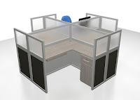 Cubicel Workstation Knockdown
