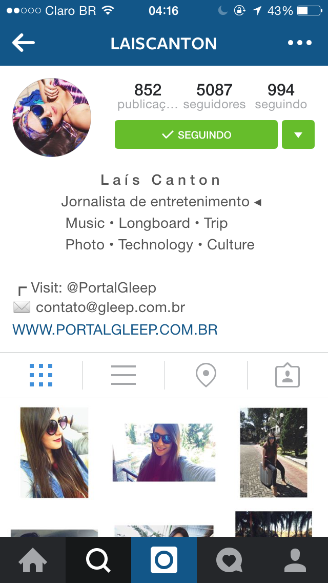 Dica Como Deixar A Bio Do Instagram Centralizada Portal Gleep