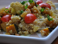 Cuscuz Marroquino de Quinoa (vegana)