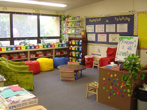 Classroom Library Decorating Ideas ~ How to set up organize and manage your classroom library