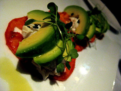Crab and Avocado Salad at Quality Meats in New York, NY - Photo by Michelle Judd of Taste As You Go