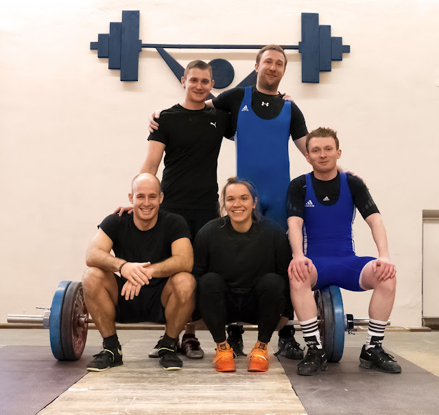 Nicolai, Markus, Marcel, Fiona und Sebastian