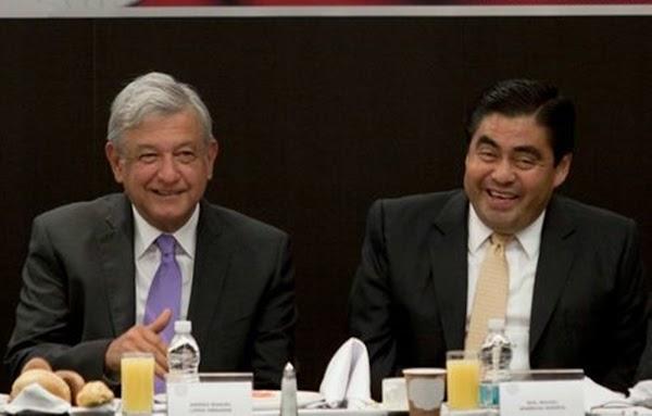!!!PRIMERO AMLO!!! No buscaré candidatura de Morena en Puebla; la prioridad es que López Obrador sea presidente: Barbosa