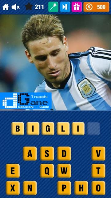 Calcio Quiz 2017 soluzione livello 211-220 | Parola e foto