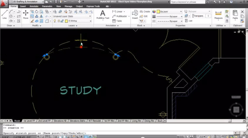 How to drawing for Electrical Lighting Plan in the AutoCAD ...