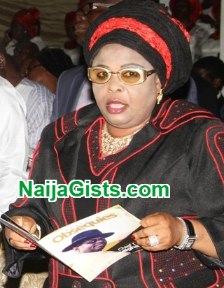 Patience Jonathan's Personal Domiciliary account