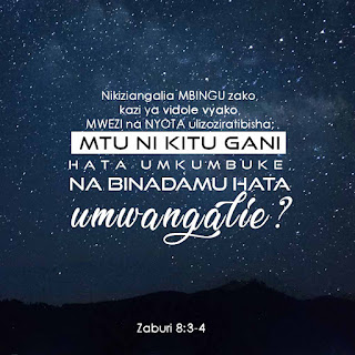 zaburi 8:3-4