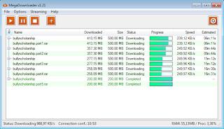 Download Mega.nz Downloader v1.21 Multi Features