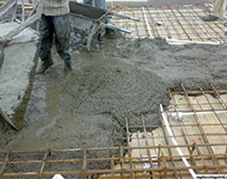 Concrete placing