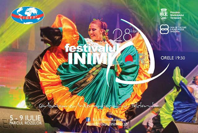 Festivalul Inimilor, revine la Timisoara cu ediția cu numărul 28