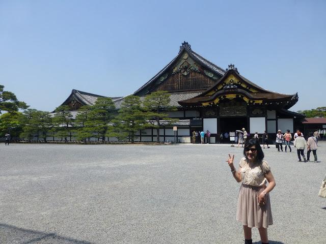 Château de Nijo à Kyoto au Japon
