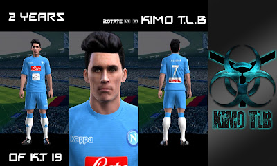 PES 2013 Napoli Home Kit 2016-17 By KIMO T.L.B 19