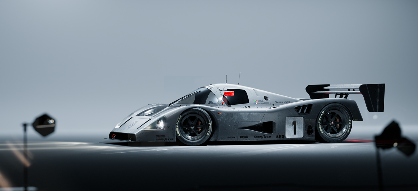 Sauber Mercedes C11 | Redshift Render Blog