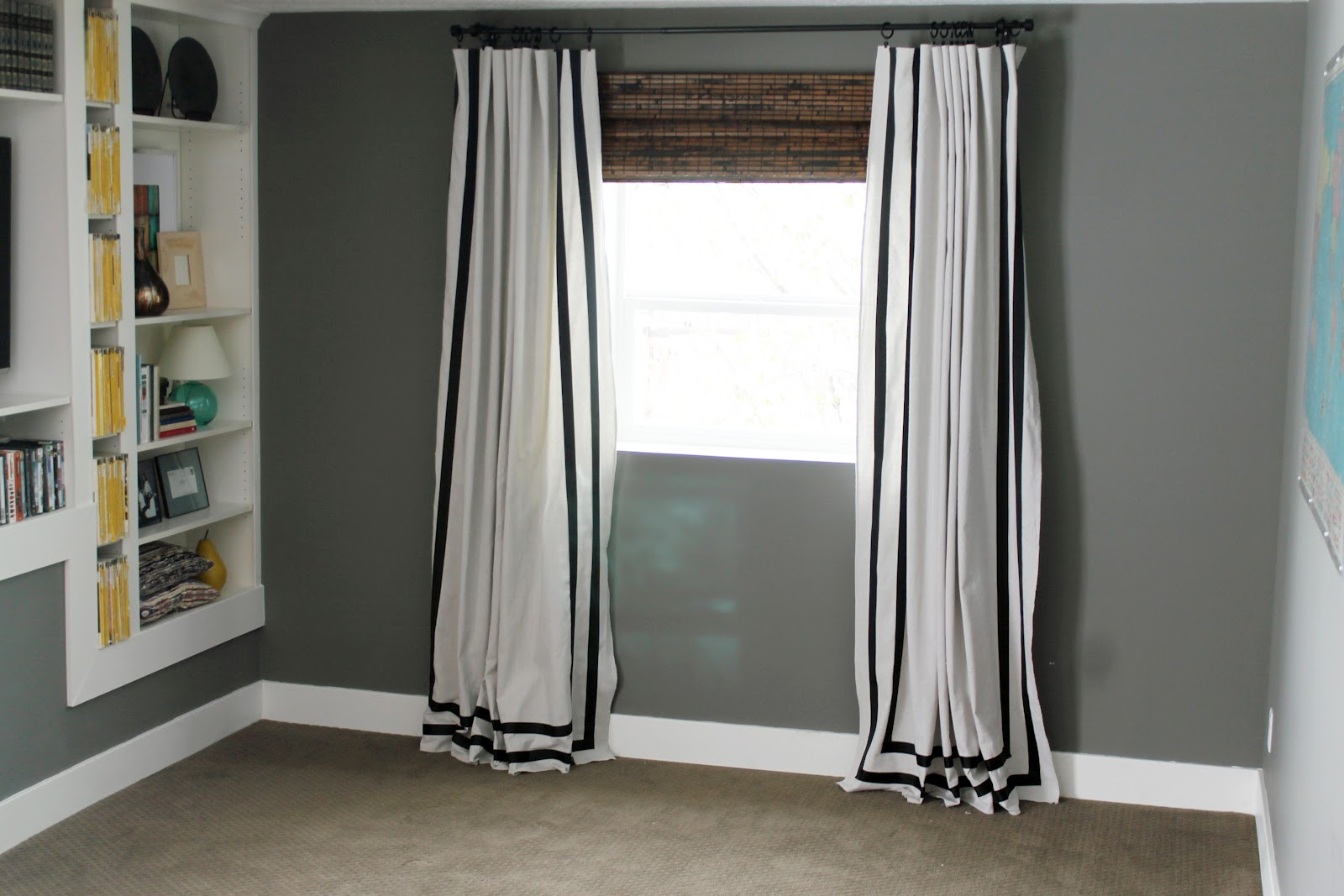 Ribbon Trim Curtains Painfully Beautiful Dream Curtains Chris Loves Julia