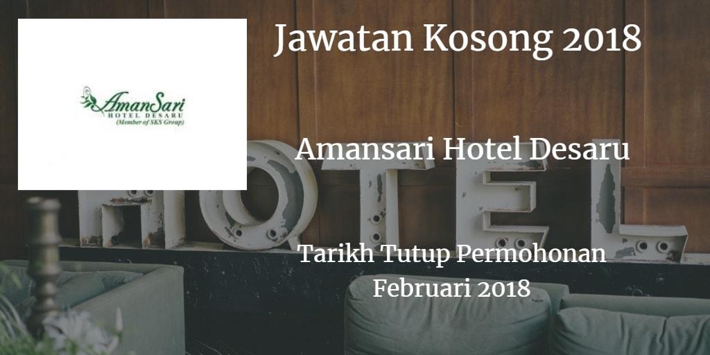Jawatan Kosong AmanSari Hotel Desaru Februari 2018