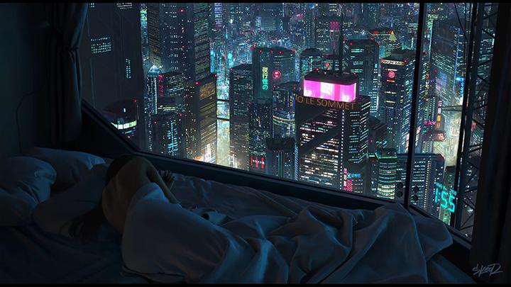 2 00 Am Cyberpunk Neon City Fullhd Wallpaper Engine Download Wallpaper Engine Wallpapers Free