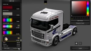 Opticruise Skin for Scania RJL