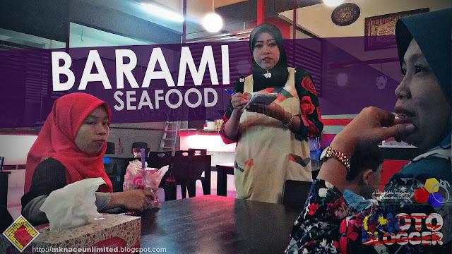 Iftar @ Barami Seafood, Taman Nusantara