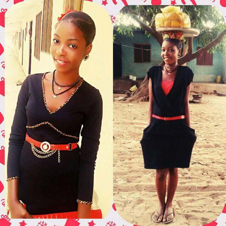 I'm proud of it - Female undergraduate of Benue State University who sells okpa for mum