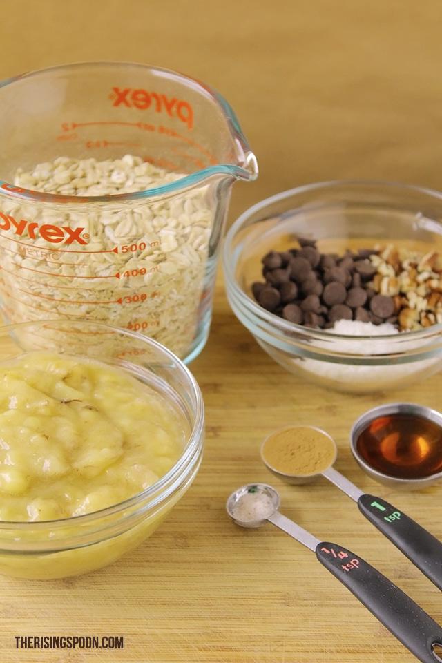 Ingredients For Healthy Breakfast Cookies