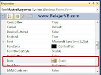 Cara Mengganti Icon Form Aplikasi VB .Net