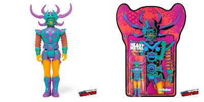 New York Comic Con 2018 Exclusive Jack Kirby's Lord of Light Original Edition ReAction Figure by Super7 x Heavy Metal