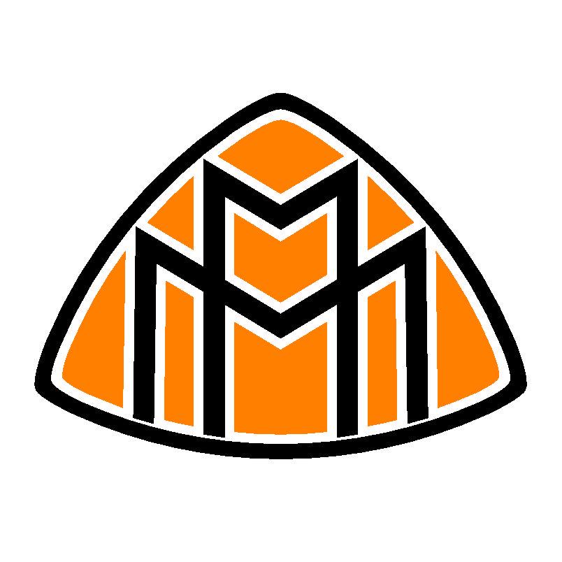 dicas logo: maybach logo