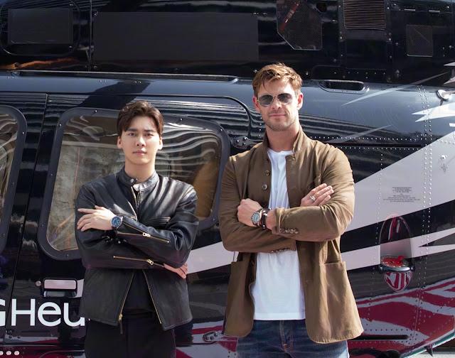 Li Yifeng Chris Hemsworth