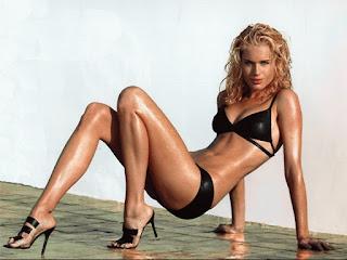 Rebecca Romijn Black Bikini