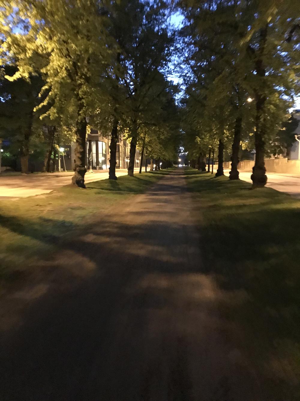 Kaupunkipyörällä auringonlaskusta auringonnousuun 16
