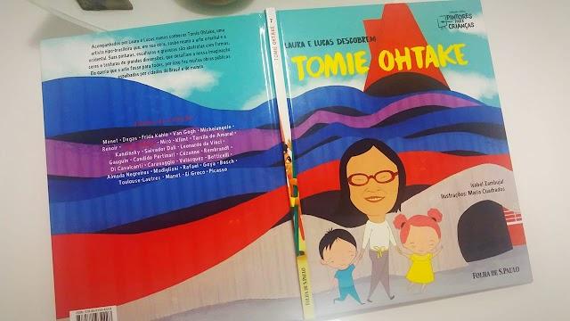 [RESENHA #621] COLEÇÃO FOLHA PINTORES PARA CRIANÇAS - VOL. 07: TOMIE OHTAKE
