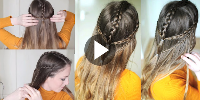 Learn - How To Create Simple And Easy Boho Braided Hairstyle, See Tutorial
