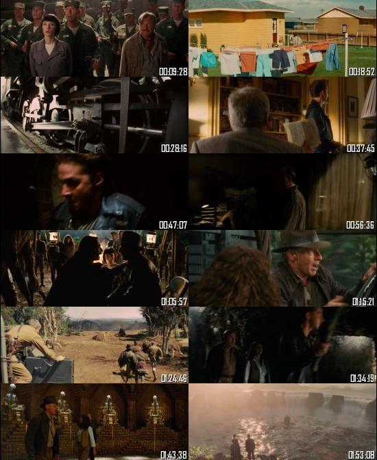 Indiana Jones and the Kingdom of the Crystal Skull 2008 BRRip 720p 480p Dual Audio Hindi English Full Movie Download