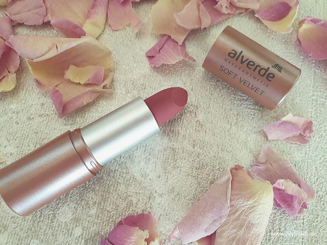 Alverde -  Soft Velvet Lippenstift