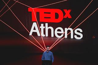 06.02.2016- Στο Θέατρο Παλλάς σε μια κατάθεση ψυχής του TEDx Athens συζητήσαμε για τον Έρωτα και για την Αγάπη με...κλειστά μάτια!
