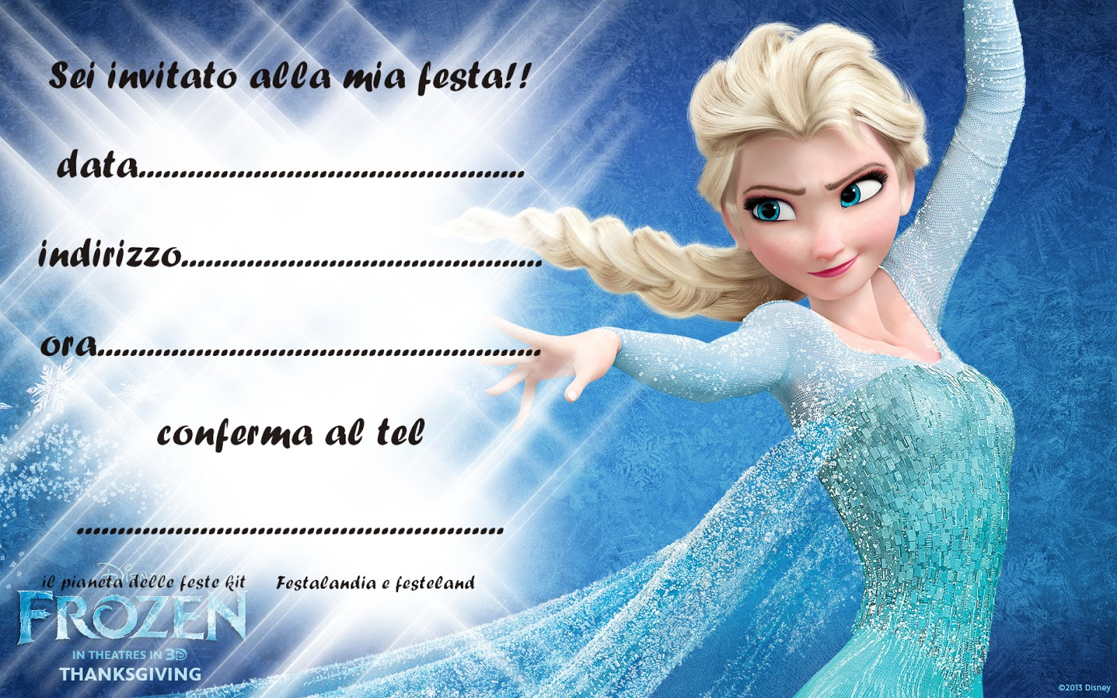 Preferenza Festalandia e Festeland: FROZEN PARTY LP98