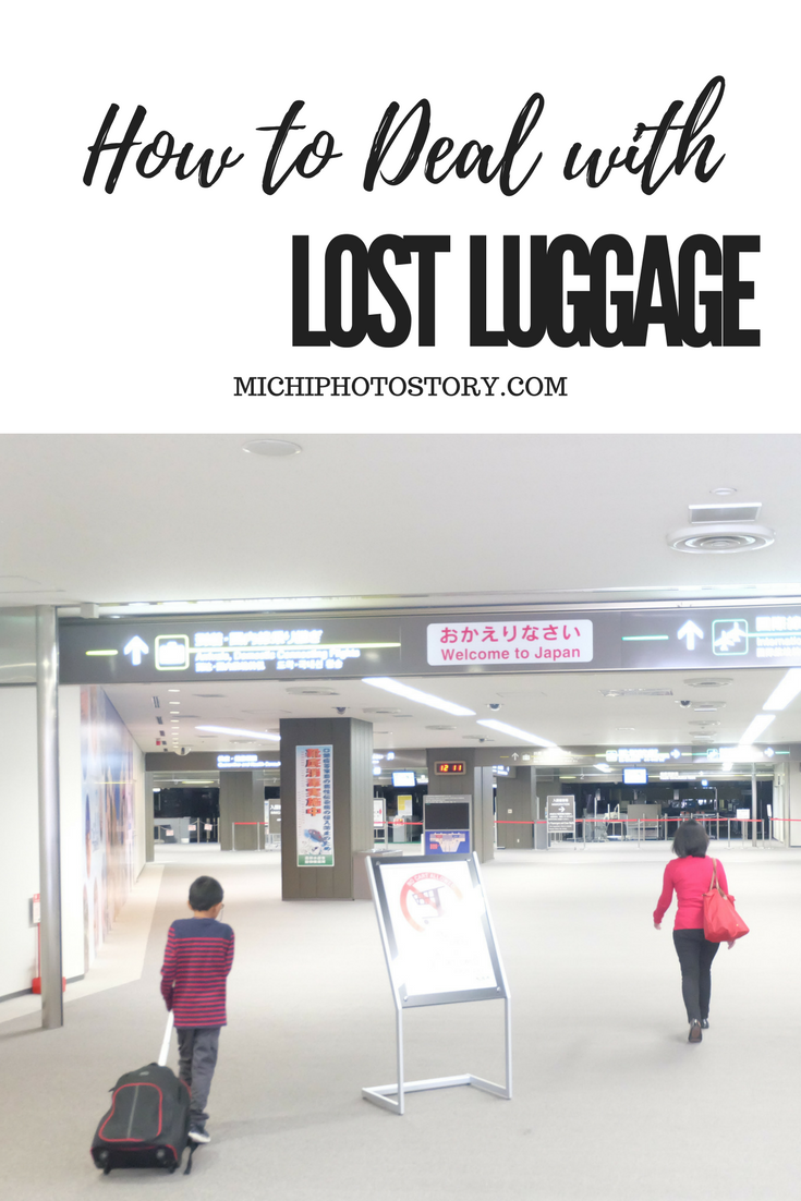 Michi Photostory How To Deal With Lost Luggage