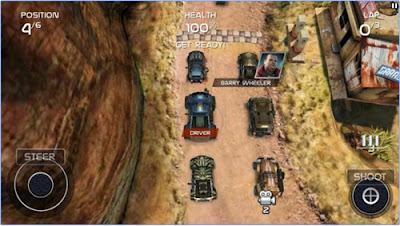 Game balapan android gratis seru death rally