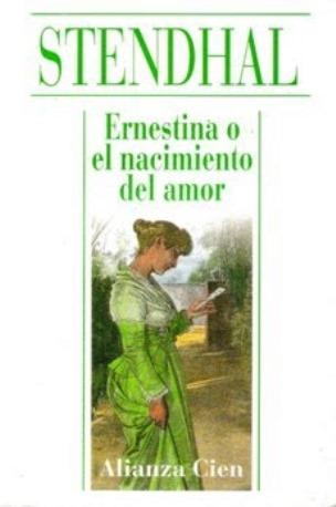 Ernestina o el nacimiento del amor – Stendhal