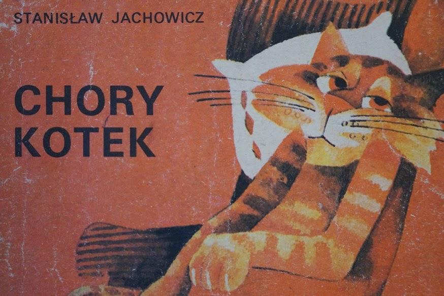 Makulka Pan Kotek Był Chory I Leżał W łóżeczku