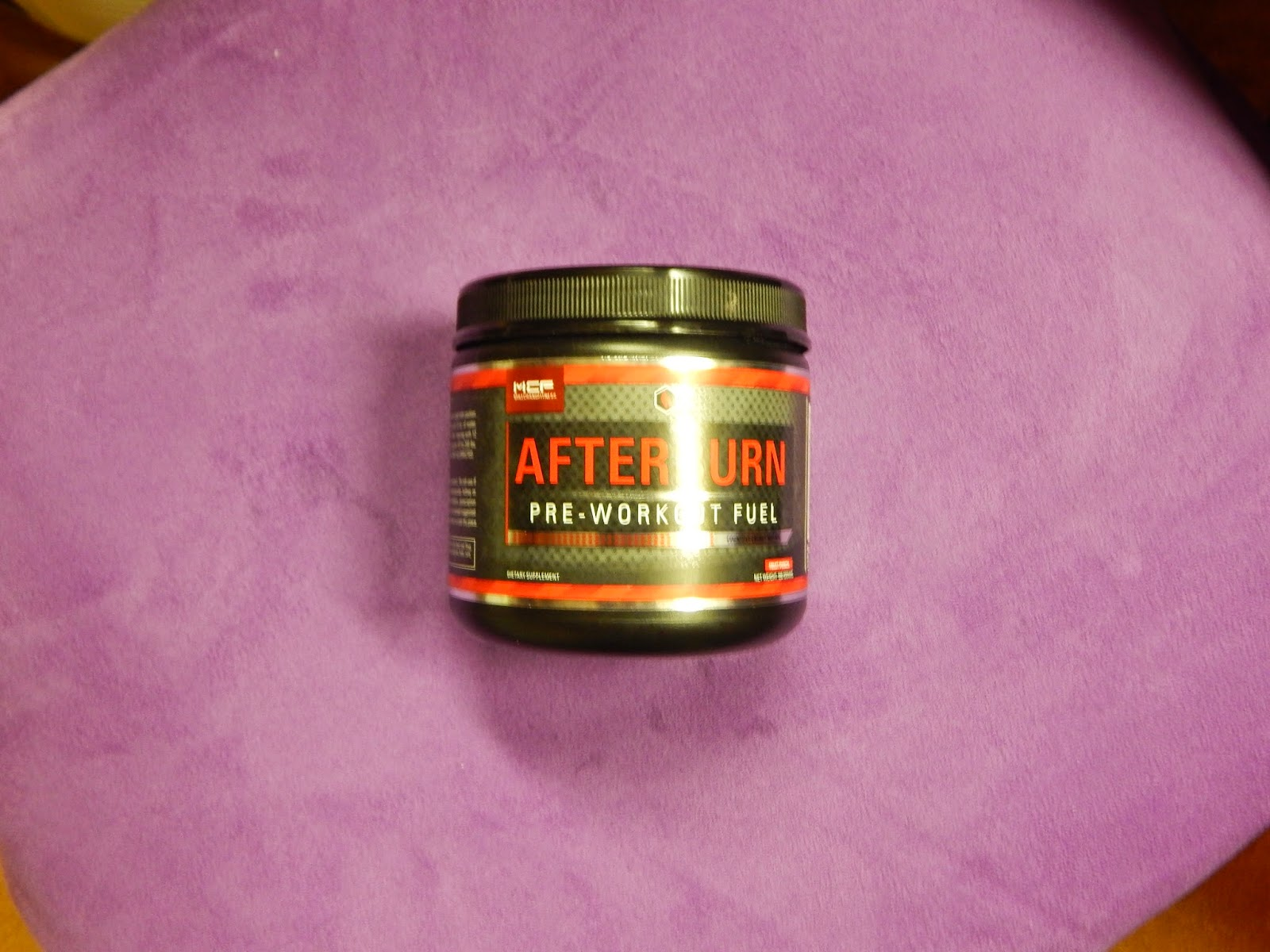 Afterburn Pre-Workout Burn Fuel Review