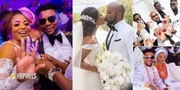 banky w wedding pictures