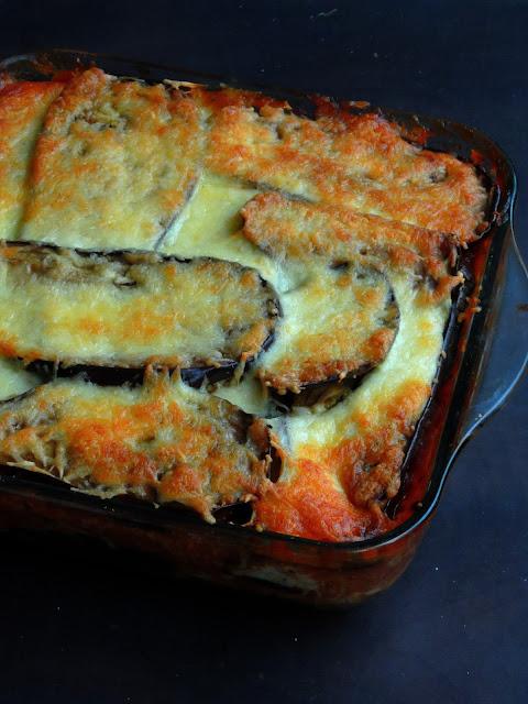 Eggplant Lasagna,Vegetarian Lasagna