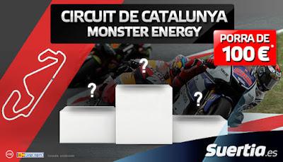 Suertia PorraGP Gran Premio Catalunya gana hasta 100€ acertando el pódium 5 junio