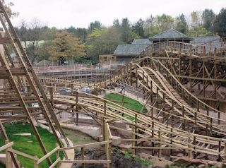 Alton Towers Wicker Man Coaster