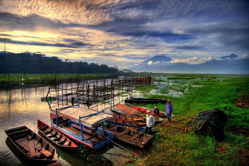 Wisata Rawa Dano, Serang, Banten
