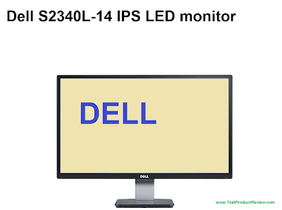 Dell S2340L-14 monitor review