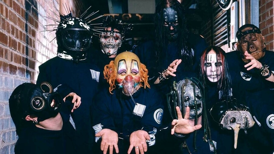 Topeng Slipknot Era Self-Titled