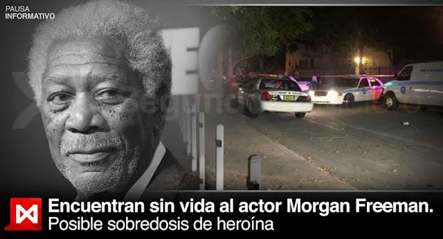 Morgan Freeman Los Angeles California dolor muerte enfermedad mentira