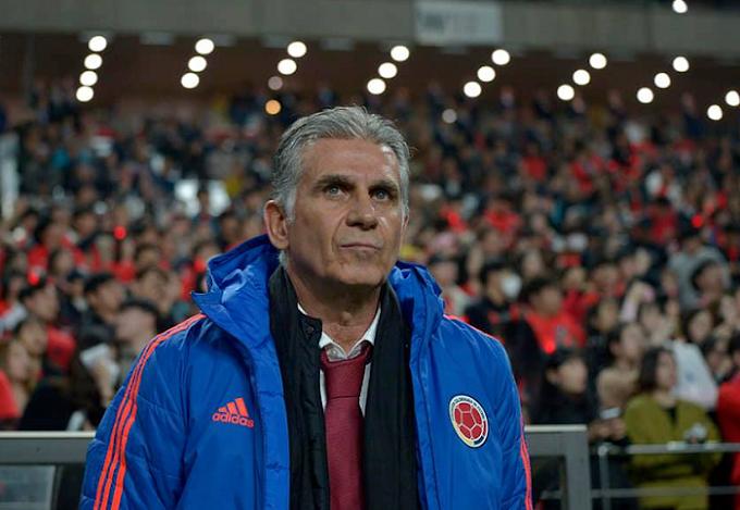 Queiroz y lo que le quedó tras la derrota de Colombia ante Corea: Lo justo podría ser un empate